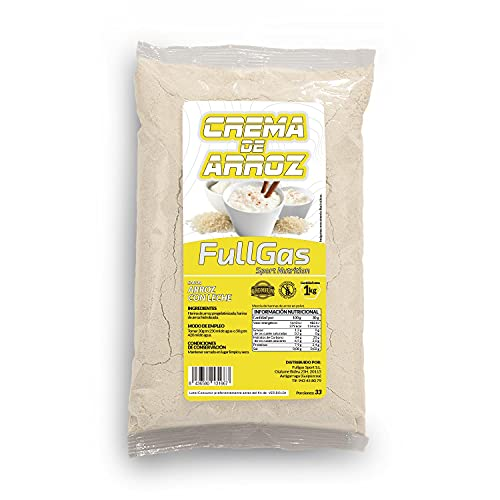 FullGas - CREMA DE ARROZ Arroz con Leche 1kg