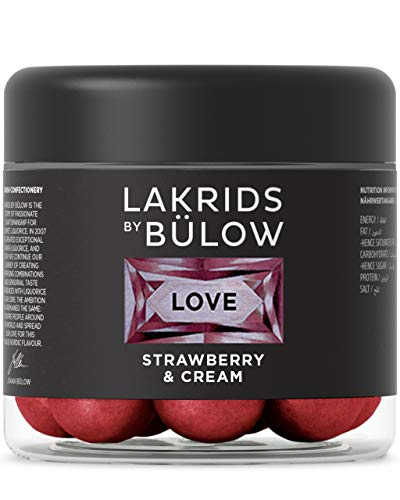 LAKRIDS BY BÜLOW - LOVE - Strawberry & Cream - 125g