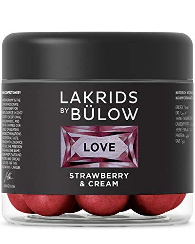 LAKRIDS BY BÜLOW - LOVE - Strawberry & Cream - 125g