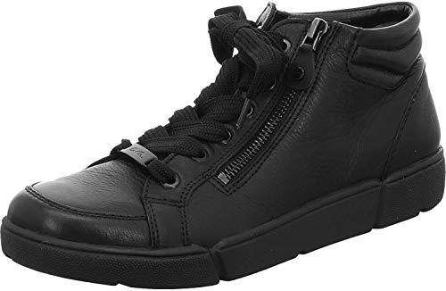 ARA Damen ROM 1214435 Hohe Sneaker, Schwarz 01, 4.5 UK