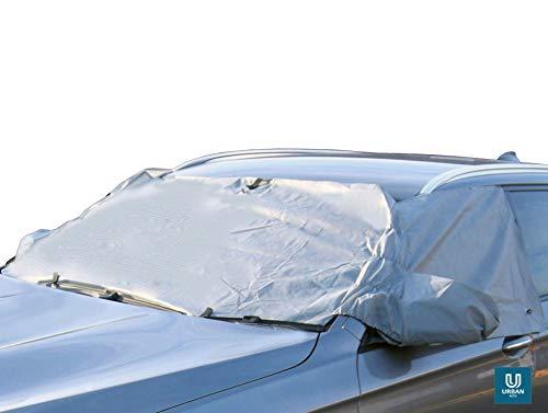 The Urban Company Frostschutz Autoabdeckung für Opel Adam, schützt vor Schnee, Eis, Vögeln