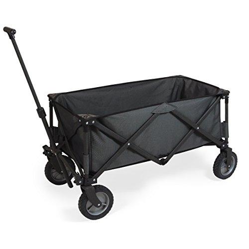 ONIVA - a Picnic Time brand Collapsible Adventure Wagon, Dark Grey, 12 x 10 x 30