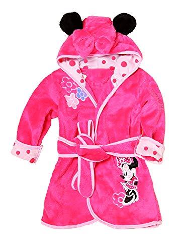 Muis - kamerjas - roze - slaapkamer badjas - pyjama - nacht - zachte fleece - meisjes - karakters - met capuchon - origineel cadeau idee
