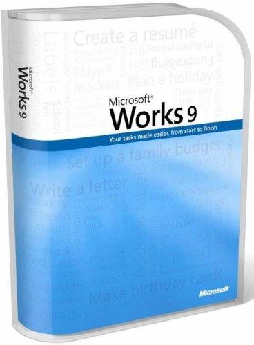 Microsoft Works 9.0 - Autoedición (470 MB, 256 MB, Pentium 1 GHz, 4x CD-ROM/ DVD 1024 x 768 14, 400 bps)