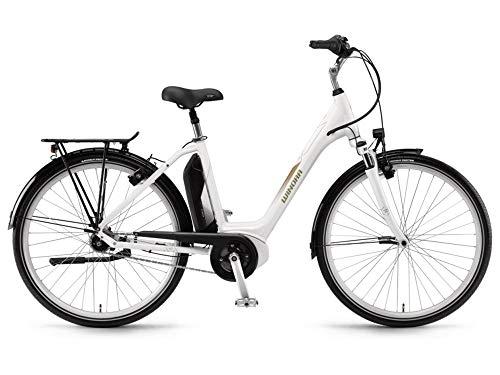 Winora Sima N7 400 Pedelec E-Bike Trekking Fahrrad weiß 2018: Größe: 54cm