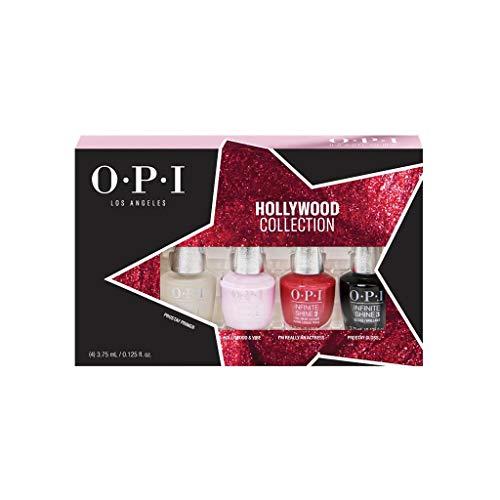 OPI Hollywood Collection Infinite Shine Long-Wear Nail Polish, Mini Gift...