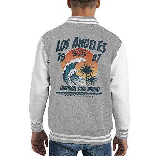 London Banter Los Angeles Original Surf Kid\'s Varsity Jacket