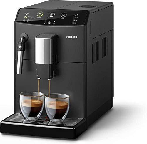 Koffiemachine Vrijstaande volautomatische espressomachine Koffiebonen Gemalen koffie Zwart voor thuiskantoor