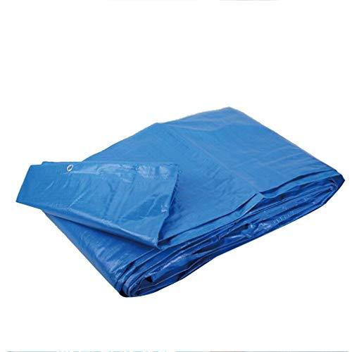 HCYTPL Tarp waterdicht PE dekzeil dubbelzijdig waterdicht grondplaat Covers Tent Heavy Duty versterkt buiten, 160G/M2