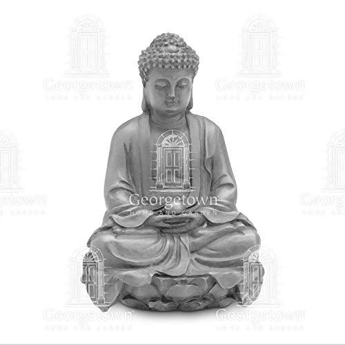 Miniature Fairy Garden Meditating Buddha Chinese Style