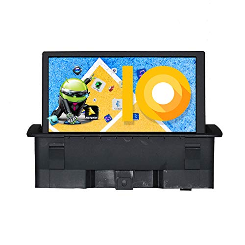 ZWNAV 7 pollici Android 10.0 Autoradio per Audi A1 2011-2015, Lettore multimediale per auto radio, Navigazione GPS WiFi Bluetooth DSP Wireless Carplay Mirror Link SWC