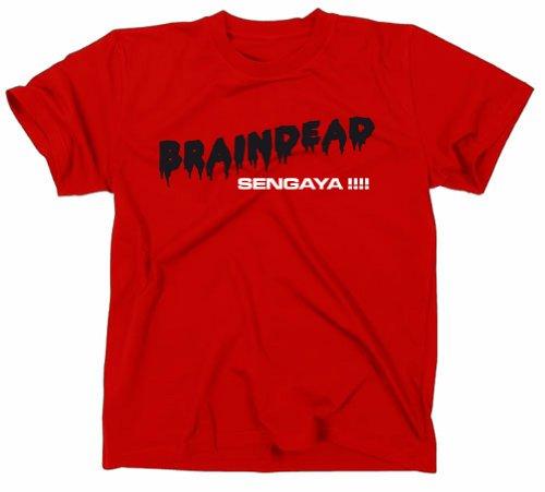 #2 Braindead Dead Alive Kult Horror T-Shirt, rot, S