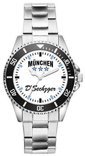 KIESENBERG - München Geschenk Artikel Idee Fan Uhr 6038