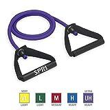SPRI Xertube Resistance Bands Exercise Cords, Purple, Ultra Heavy