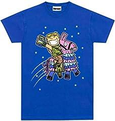 Fortnite Camiseta Manga Corta para Niños Llama