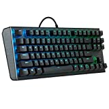 Cooler Master CK550 Tastiera Gaming Meccanica – Design Tasti RGB Flottanti, Piastra in Alluminio...