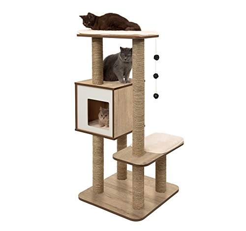 Vesper Cat Tree Scratching Post with Condo Review