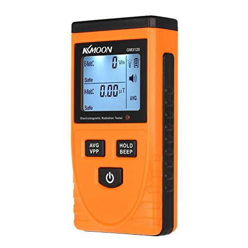 Roeam Digital LCD Electromagnetic Radiation Detector Meter Dosimeter Tester EMF Meter Counter
