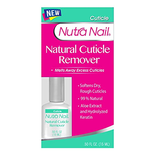 Nutra Nail Naturals Cuticle Remover, 0.45 Fluid Ounce
