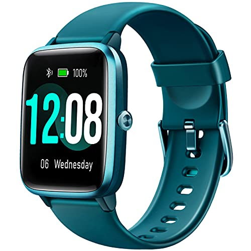 Letsfit Smart Watch, Fitness Tracker with Heart Rate Monitor, Activity...