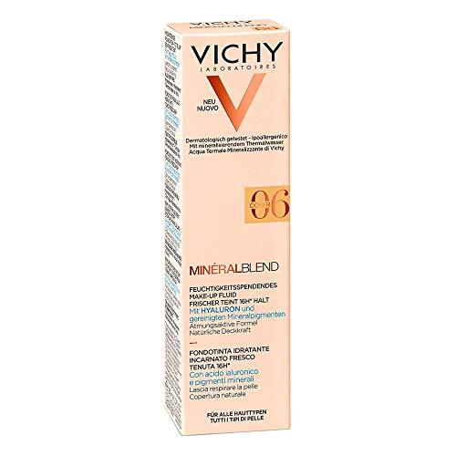 VICHY Minéralblend Make-up Fluid 06 Ocher, 30 ml Lösung