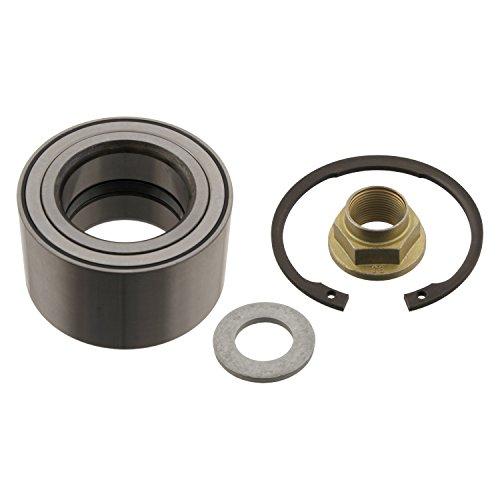 Preisvergleich Produktbild febi bilstein 29521 Radlagersatz mit Achsmutter und Sicherungsringen (Vorderachse beidseitig) Radlager,  1 Stück