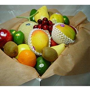 静岡県産クラウン マスクメロン ・ トロピカルフルーツ 詰合せ 化粧箱入り