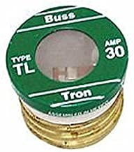 Cooper Bussmann TL-30 (TL30) 30 Amp (30A) 125V Time Delay Round Body Plug Fuses