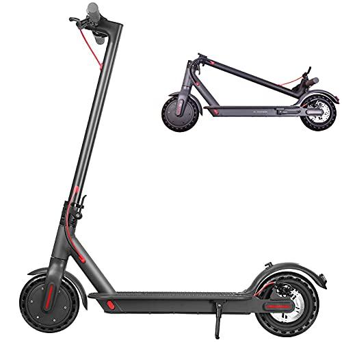 GXFXLP Patinete Electrico Adultos 25km/h, Patin Electrico Plegable, Electric Scooter 350W Carga...