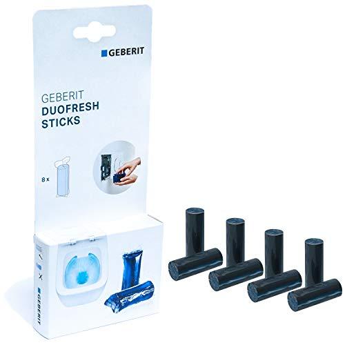 GEBERIT DuoFresh Sticks für Spülkasten | Schachtel mit 8 Stück | Frischeduft und Hygiene im WC | 115.062.21.1