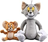 Tom & Jerry Super Soft Cute and Cuddly Plush Toys Bashful Stuffed Animal for Boys Girls Kids Toddlers Babies Great Gift Idea Xmas Christmas Wedding Anniversary Presents Party Gifts