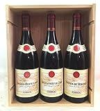 Coffret Vins GUIGAL Vallée du Rhône - 1 Côtes du Rhône Rouge 2017 + 1 Châteauneuf-du-Pape Rouge 2016 + 1 Crozes-Hermitage Rouge 2018 !