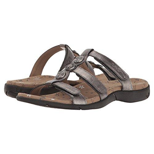 Taos Footwear Women's Prize 3 Pewter Sandal