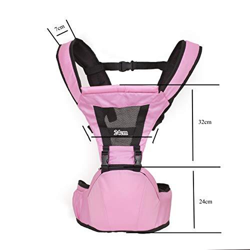 Marsupio Neonati Ergonomico Nuova Generazione 0-36 Mesi Bebè Fronte Mondo Con Sedile Porta Neonato Impermeabile Fascia Porta Bambino Comodo e Materiali Traspiranti