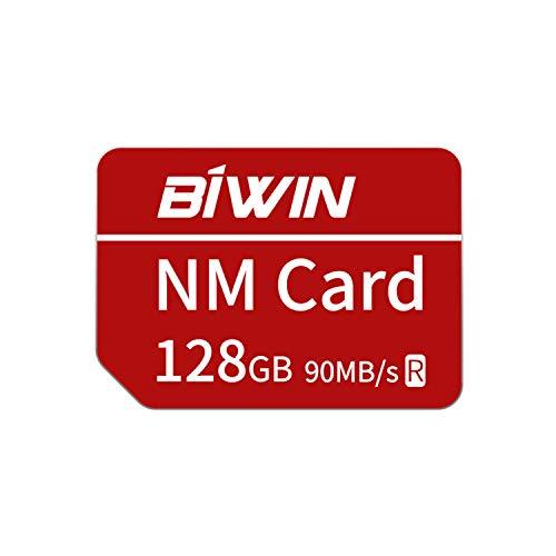 Huawei NanoMemory Memory Card 128GB NM Card NM-Speicherkarte, bis zu 90 MB/s, kompatibel mit Huawei P30 / P30 Pro/Mate X/Mate Xs/Mate 40/Mate 40 Pro