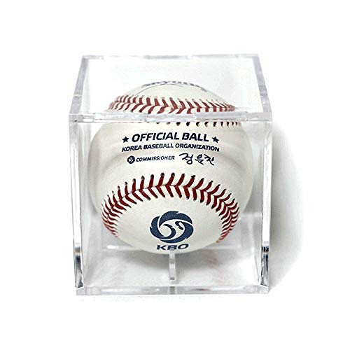 Skyline Official 2020 Baseball of Korea Baseball Organization KBO League with Display Case White