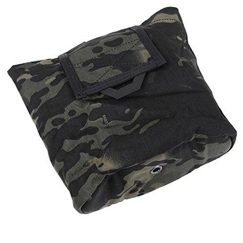 TMC QUOP Dump Pouch 折り畳み マガジン ダンプポーチ マルチカムブラック 実物生地使用