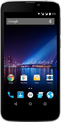 Phicomm Clue 2S Smartphone (12,7 cm (5,0 Zoll) Bildschirm, 16 GB Speicher, Android 6.0), Titanium grey