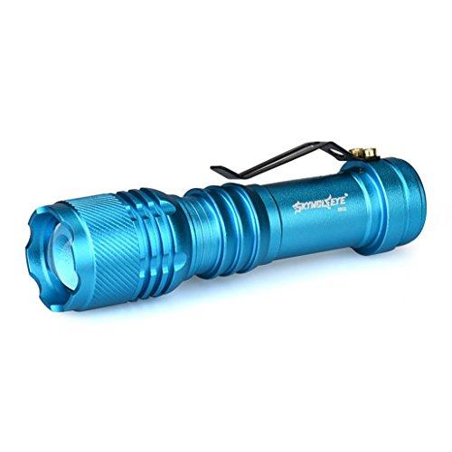 6000LM CREE Q5 AA/14500 3 Modos ZOOMABLE LED Linterna Antorcha Super Brillante