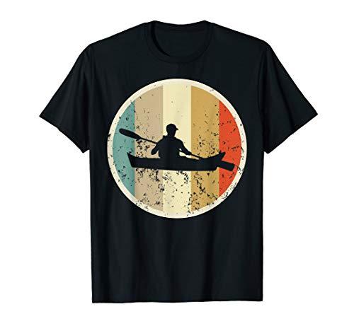 Kayak Kanu Kajak Paddeln Kayaker Retro Vintage Grunge Style T-Shirt