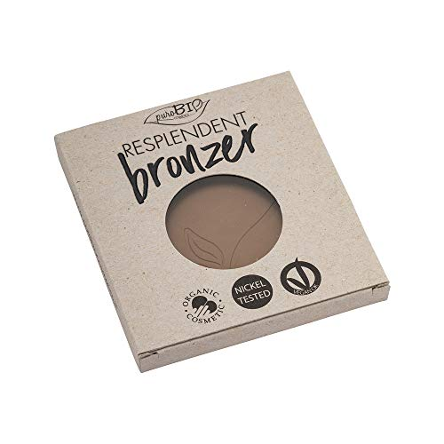 PUROBIO Terra Compatta Resplendent Bronzer Refill 01 Marrone Pallido - 9 Gr