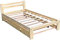 Twin Trundle Bed Wooden Bed