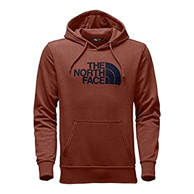 The North Face Men's Half Dome Hoodie - Ketchup Red Heather/Urban Navy - L (Past Season)