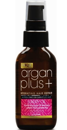 Argan Plus + Luxury Oil 60ml - Nourishing Argan Oil Treatment, softens hair and controls frizz