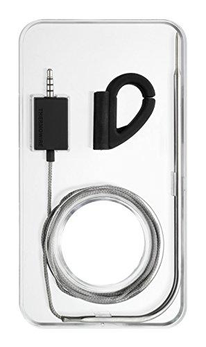 TFA Dostmann Thermowire Gourmet-Thermometer, für Smartphones, Kerntemperatur messen, Fleischthermometer, Haushaltsthermometer, Einstechthermometer, für Tablet oder Smartphone