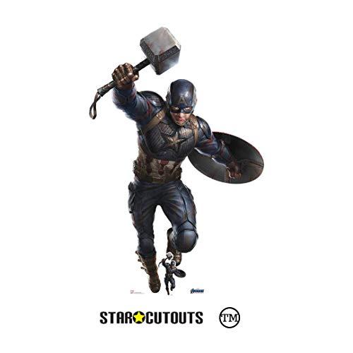 Star Cutouts Ltd Marvel Avengers Endgame Figur, lebensgroß, Karton, Mehrfarbig