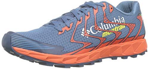 Columbia Rogue™ F.k.t.™ II, Zapatillas de Trail Running para Hombre, Azul (Steel, Acid Yellow), 43 EU