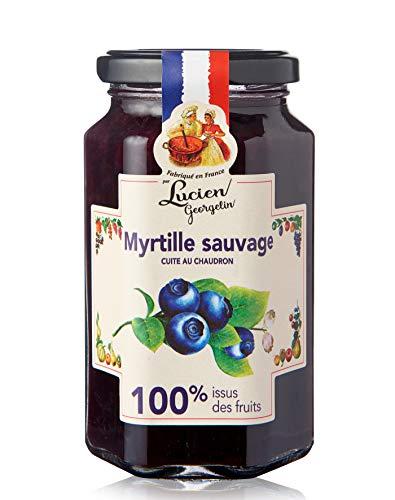 Lucien Georgelin Myrtille Sauvage 100% Issu des Fruits 300g - Pack de 6