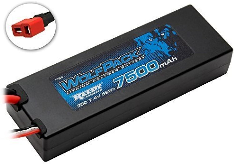 ASSOCIATED 754 WolfPack LiPo 2S 7.4V 7500mAh 30C by Associated