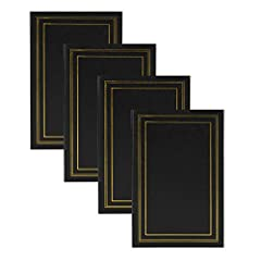Decorative solid colored traditional set of 4 photo albums to organize and store all your photos Set of 4 photo albums for home or commercial use can hold up to 1,200 photos Photo albums each hold up to 300 4x6 photographs Photo safe and acid free cl...